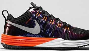 Nike Lunar TR1 Black/Metallic Silver-Total Orange-Ink