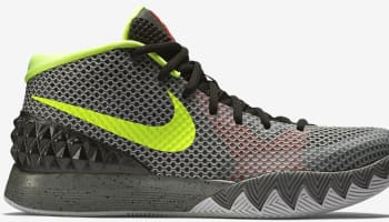 Nike Kyrie 1 Deep Pewter/Tumbled Grey-Night Silver-Volt