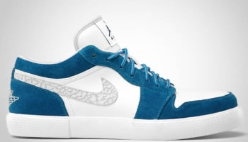 Jordan Retro V.1 Military Blue/White-Neutral Grey