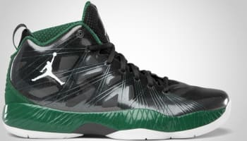 Air Jordan 2012 Lite Black/Gorge Green-White