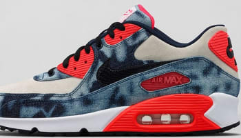 Nike Air Max '90 DNM QS Midnight Navy/Black-White-Infrared