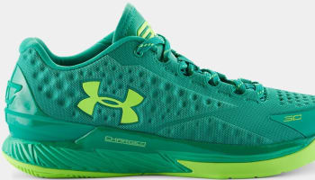Under Armour Curry One Low Scratch Green/Lime Green