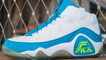 Fila 95 White/Atomic Blue-Safety Yellow