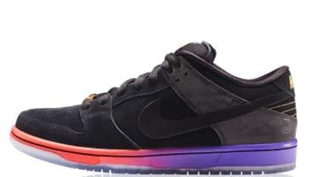 Nike Dunk Low Premium SB BHM QS Black/Black-Purple Venom