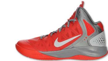 Nike Zoom Hyperenforcer PE Sport Red/Metallic Silver-Cool Grey