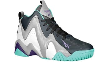 Reebok Kamikaze II Mid Girls White/Gravel-Purple-Teal
