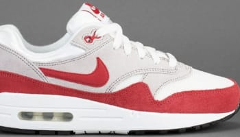 Nike Air Max 1 SP White/Cardinal Red-Neutral Grey