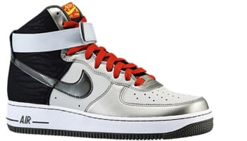 Nike Air Force 1 High Dusty Grey/Newsprint-Metallic Pewter
