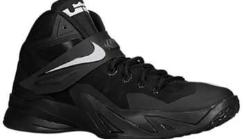 Nike Zoom Soldier VIII Black/Metallic Silver