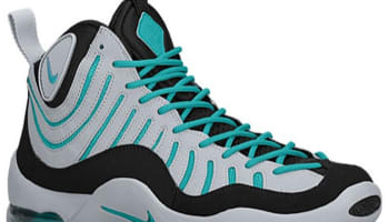 Nike Air Bakin' Black/Turbo Green-Wolf Grey