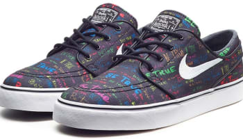 Nike Zoom Stefan Janoski SB Black/White-Multi-Color