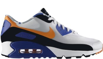 Nike Air Max '90 QS London White/Cool Grey-Mandarin-Hyper Blue