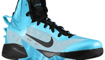 Nike Zoom Hyperfuse 2013 N7 Summit White/Black-Dark Turquoise-Tide Pool Blue
