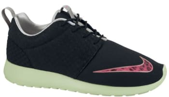 Nike Roshe Run FB Black/Pink Flash-Fresh Mint