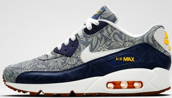 Nike Air Max '90 Liberty Women's Blue Recall/White-Atomic Mango-Linen