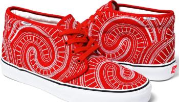Vans Uptown Chukka Red/White