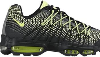 Nike Air Max '95 Ultra JCRD Black/Dark Grey-Metallic Silver-Volt