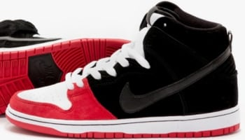 Uprise x Nike Dunk High Premium SB Black/University Red-White