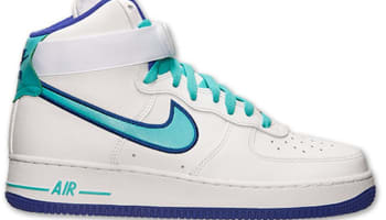 2988d7ed63f1 Nike Air Force 1 High  07 White Hyper Jade-Dark Concord