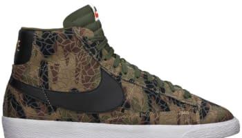 Nike Blazer Mid Premium VNTG Black/Cargo Khaki