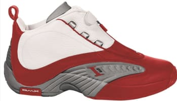 Reebok Answer IV White/Red-Grey