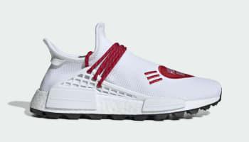 Human Made x Adidas Pharrell NMD Hu White/Red