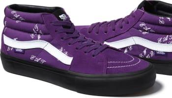 Supreme x Vans Sk8-Mid Eat Me Purple