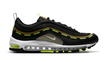 Undefeated x Nike Air Max 97 Black/Volt-Militia Green-White (Volt)