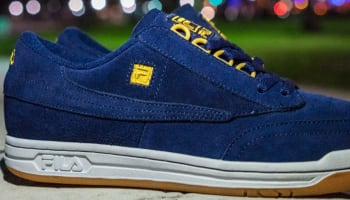Fila Original Tennis Luxe Navy/Gold