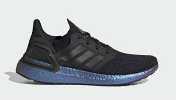 Adidas Ultra Boost 20 Core Black/Core Black/Boost Blue Violet Metallic