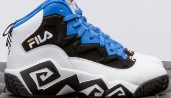 Fila MB White/Black-Prince Blue