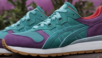 Asics Gel Epirus Mint Green/Purple