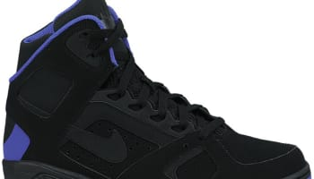 Nike Air Flight Lite High Black/Pure Purple