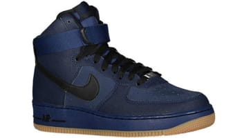 Nike Air Force 1 High Midnight Navy/Black-Gum Medium Brown