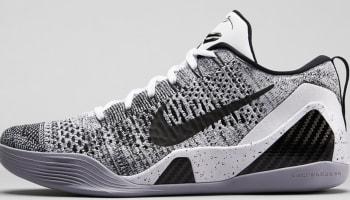 Nike Kobe 9 Elite Low White/Wolf Grey-Black