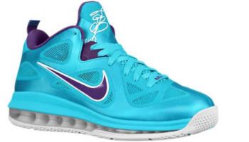 Nike LeBron 9 Low Summit Lake Hornets