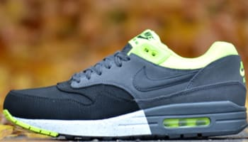 Nike Air Max 1 Premium Black/Anthracite-Volt
