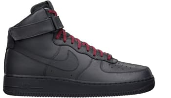 Nike Air Force 1 High QS Anthracite/Anthracite-Team Red