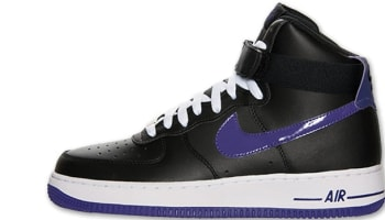 Nike Air Force 1 High Black/Court Purple