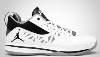 Jordan CP3.V White/Black-Cement Grey