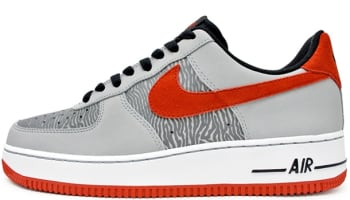 Nike Air Force 1 Low Reflect Silver/University Red-Silver