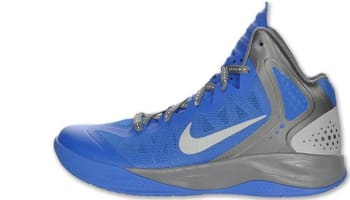 Nike Zoom Hyperenforcer PE Treasure Blue/Metallic Silver-Cool Grey