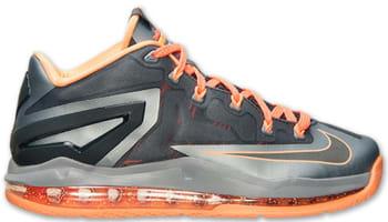 Nike LeBron 11 Low Light Magnet Grey/Dark Magnet Grey-Magnet Grey-Bright Mango