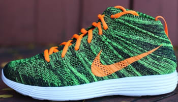 Nike Lunar Flyknit Chukka Black/Total Orange-Sequoia-Parachute Gold-Volt-Sail