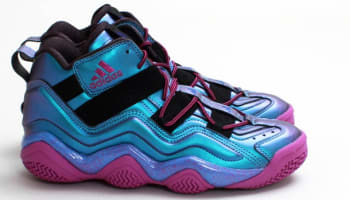 adidas Top Ten 2000 Iridescent Black/Joy Blue-Vivid Pink