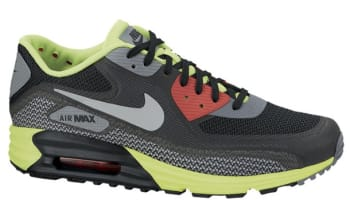 Nike Air Max Lunar90 C3.0 Black/Light Base Grey-Dark Grey-Anthracite-Volt-Light Crimson
