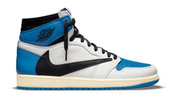 Fragment x Travis Scott x Air Jordan 1 High OG Sail/Black-Military Blue-Shy Pink
