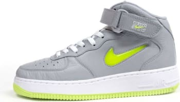 Nike Air Force 1 Mid Wolf Grey/Volt