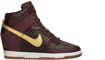 Nike Dunk Sky Hi City FW QS Women's Milan Brown/Metallic Gold