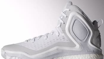 adidas D Rose 5 Boost White/Light Onix-White